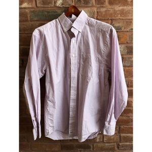 VINEYARD VINES Striped Lavendar Men's Button Down